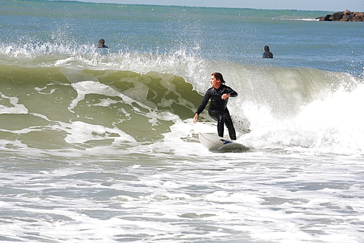West Central Florida Gulf Surf Report Photography. Featuring photographs from standout surfing spots along the Gulf Coast. Photo taken and posted on January 20 2020, 15:43