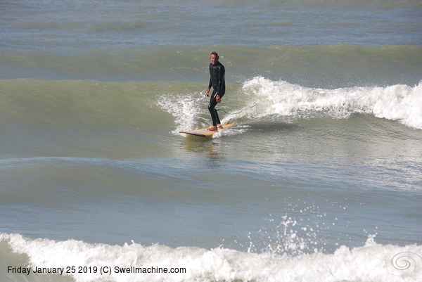 West Central Florida Gulf Surf Report Photography. Featuring photographs from standout surfing spots along the Gulf Coast. Photo taken and posted on January 25 2019, 18:23