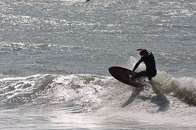 West Central Florida Gulf Surf Report Photography. Featuring photographs from standout surfing spots along the Gulf Coast. Photo taken and posted on February 02 2020, 16:44