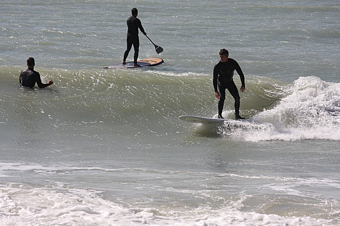 West Central Florida Gulf Surf Report Photography. Featuring photographs from standout surfing spots along the Gulf Coast. Photo taken and posted on February 02 2020, 16:39