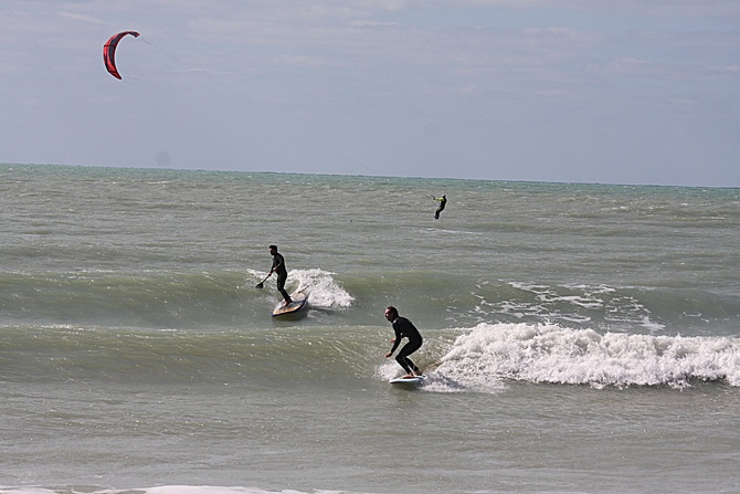 West Central Florida Gulf Surf Report Photography. Featuring photographs from standout surfing spots along the Gulf Coast. Photo taken and posted on February 02 2020, 16:42