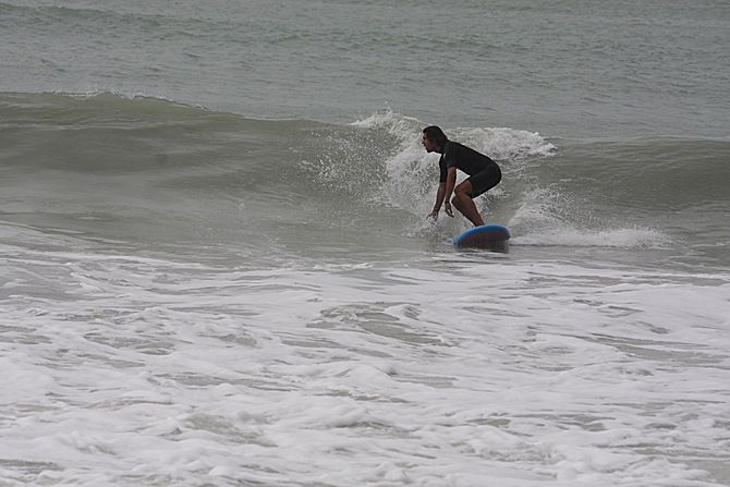 West Central Florida Gulf Surf Report Photography. Featuring photographs from standout surfing spots along the Gulf Coast. Photo taken and posted on February 21 2020, 15:54