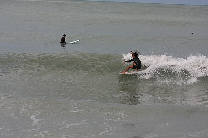 West Central Florida Gulf Surf Report Photography. Featuring photographs from standout surfing spots along the Gulf Coast. Photo taken and posted on February 28 2020, 14:03