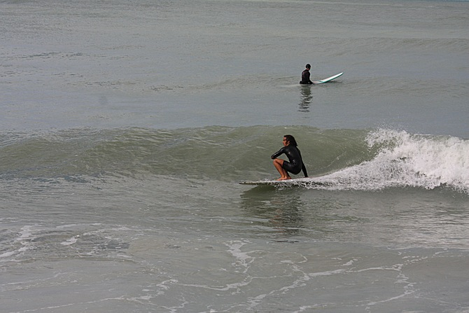 West Central Florida Gulf Surf Report Photography. Featuring photographs from standout surfing spots along the Gulf Coast. Photo taken and posted on February 28 2020, 14:05