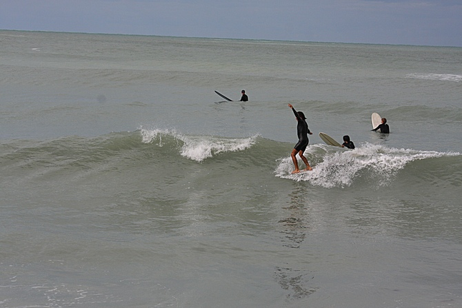 West Central Florida Gulf Surf Report Photography. Featuring photographs from standout surfing spots along the Gulf Coast. Photo taken and posted on February 28 2020, 14:07