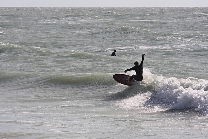 West Central Florida Gulf Surf Report Photography. Featuring photographs from standout surfing spots along the Gulf Coast. Photo taken and posted on March 06 2020, 17:33