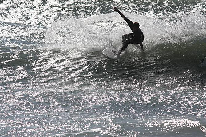 West Central Florida Gulf Surf Report Photography. Featuring photographs from standout surfing spots along the Gulf Coast. Photo taken and posted on March 06 2020, 17:39