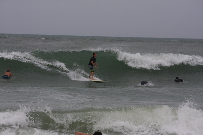 West Central Florida Gulf Surf Report Photography. Featuring photographs from standout surfing spots along the Gulf Coast. Photo taken and posted on June 08 2020, 21:08