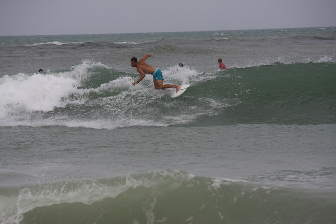 West Central Florida Gulf Surf Report Photography. Featuring photographs from standout surfing spots along the Gulf Coast. Photo taken and posted on June 08 2020, 21:09