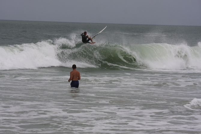 West Central Florida Gulf Surf Report Photography. Featuring photographs from standout surfing spots along the Gulf Coast. Photo taken and posted on June 08 2020, 21:11
