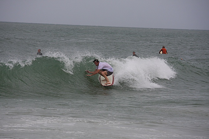 West Central Florida Gulf Surf Report Photography. Featuring photographs from standout surfing spots along the Gulf Coast. Photo taken and posted on June 08 2020, 17:21