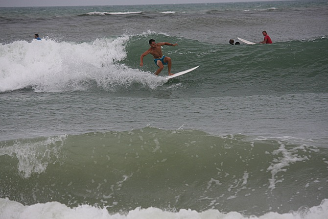 West Central Florida Gulf Surf Report Photography. Featuring photographs from standout surfing spots along the Gulf Coast. Photo taken and posted on June 08 2020, 17:28