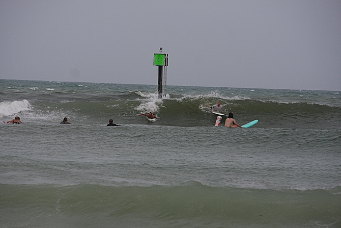 West Central Florida Gulf Surf Report Photography. Featuring photographs from standout surfing spots along the Gulf Coast. Photo taken and posted on June 08 2020, 17:31