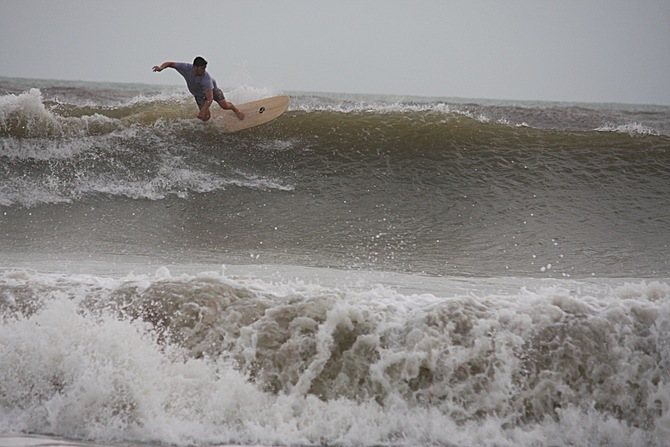 West Central Florida Gulf Surf Report Photography. Featuring photographs from standout surfing spots along the Gulf Coast. Photo taken and posted on June 08 2020, 17:37