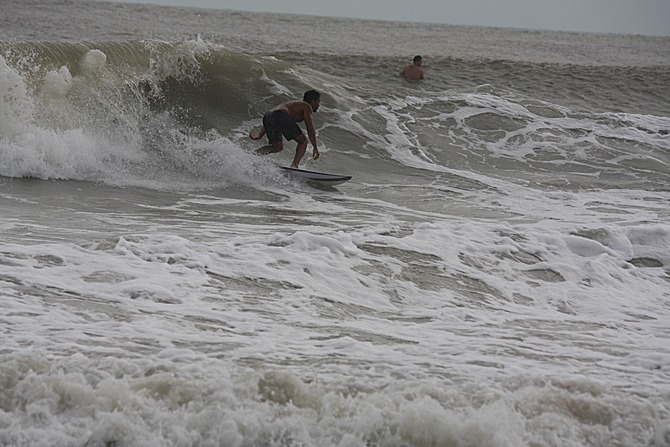 West Central Florida Gulf Surf Report Photography. Featuring photographs from standout surfing spots along the Gulf Coast. Photo taken and posted on June 08 2020, 17:43