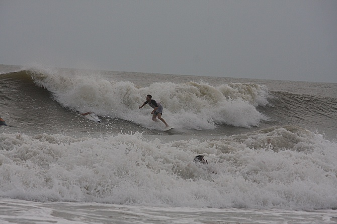 West Central Florida Gulf Surf Report Photography. Featuring photographs from standout surfing spots along the Gulf Coast. Photo taken and posted on June 08 2020, 17:45