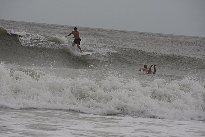West Central Florida Gulf Surf Report Photography. Featuring photographs from standout surfing spots along the Gulf Coast. Photo taken and posted on June 08 2020, 17:47