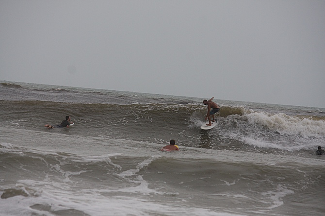 West Central Florida Gulf Surf Report Photography. Featuring photographs from standout surfing spots along the Gulf Coast. Photo taken and posted on June 08 2020, 17:49
