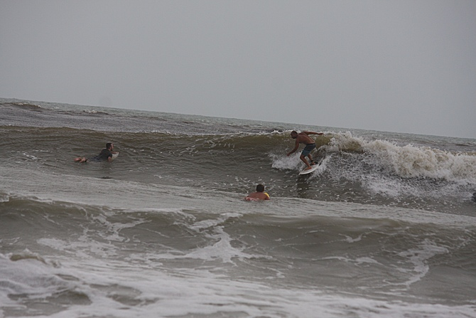 West Central Florida Gulf Surf Report Photography. Featuring photographs from standout surfing spots along the Gulf Coast. Photo taken and posted on June 08 2020, 17:51