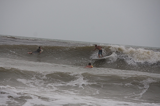 West Central Florida Gulf Surf Report Photography. Featuring photographs from standout surfing spots along the Gulf Coast. Photo taken and posted on June 08 2020, 17:52
