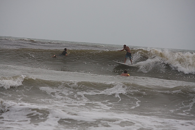 West Central Florida Gulf Surf Report Photography. Featuring photographs from standout surfing spots along the Gulf Coast. Photo taken and posted on June 08 2020, 17:53