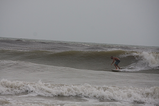 West Central Florida Gulf Surf Report Photography. Featuring photographs from standout surfing spots along the Gulf Coast. Photo taken and posted on June 08 2020, 17:56