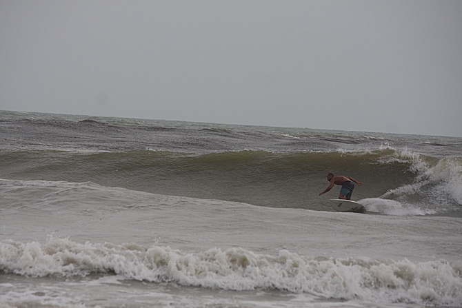 West Central Florida Gulf Surf Report Photography. Featuring photographs from standout surfing spots along the Gulf Coast. Photo taken and posted on June 08 2020, 17:57