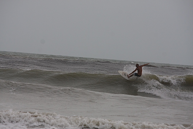 West Central Florida Gulf Surf Report Photography. Featuring photographs from standout surfing spots along the Gulf Coast. Photo taken and posted on June 08 2020, 17:58