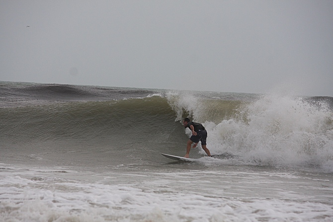 West Central Florida Gulf Surf Report Photography. Featuring photographs from standout surfing spots along the Gulf Coast. Photo taken and posted on June 08 2020, 18:01