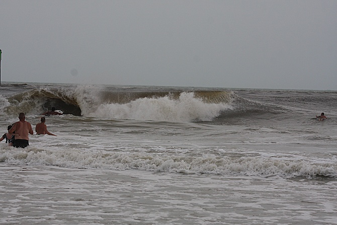 West Central Florida Gulf Surf Report Photography. Featuring photographs from standout surfing spots along the Gulf Coast. Photo taken and posted on June 08 2020, 18:11