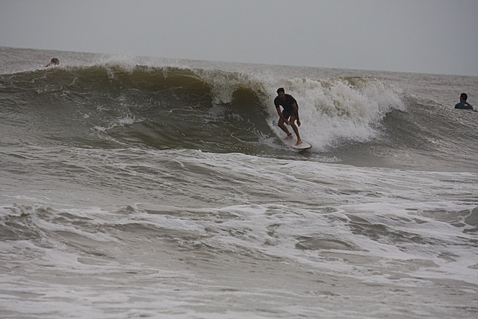 West Central Florida Gulf Surf Report Photography. Featuring photographs from standout surfing spots along the Gulf Coast. Photo taken and posted on June 08 2020, 18:17