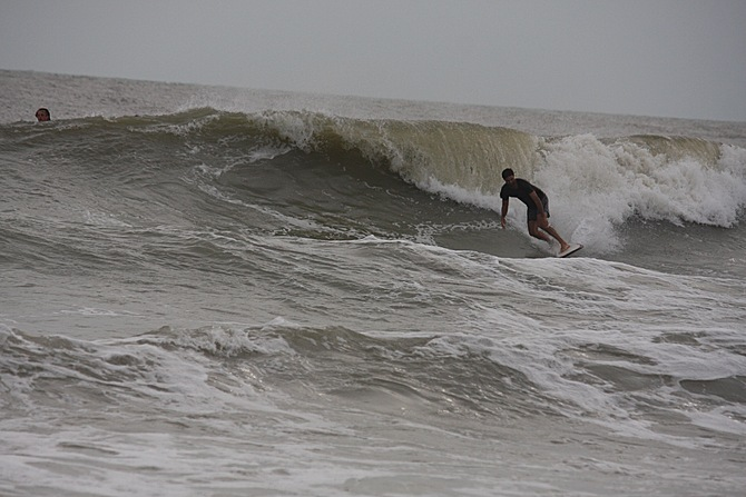 West Central Florida Gulf Surf Report Photography. Featuring photographs from standout surfing spots along the Gulf Coast. Photo taken and posted on June 08 2020, 18:19