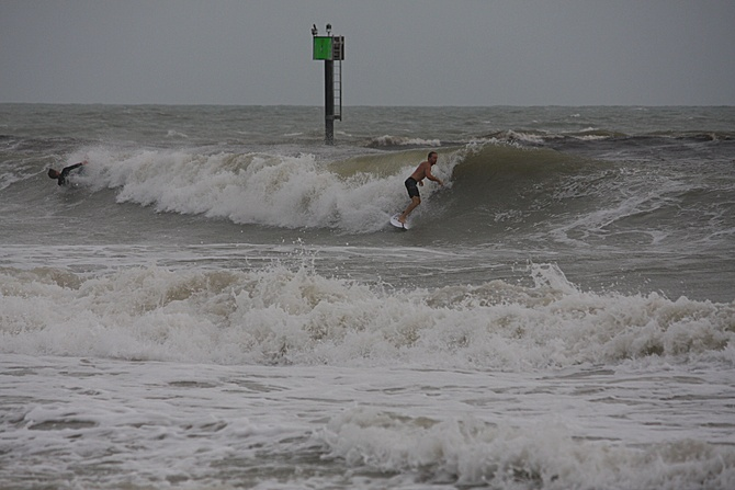 West Central Florida Gulf Surf Report Photography. Featuring photographs from standout surfing spots along the Gulf Coast. Photo taken and posted on June 08 2020, 18:23