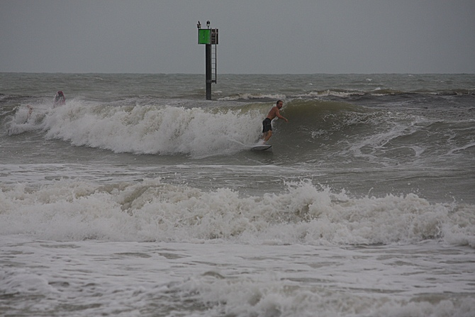 West Central Florida Gulf Surf Report Photography. Featuring photographs from standout surfing spots along the Gulf Coast. Photo taken and posted on June 08 2020, 18:24