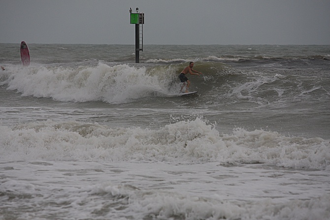 West Central Florida Gulf Surf Report Photography. Featuring photographs from standout surfing spots along the Gulf Coast. Photo taken and posted on June 08 2020, 18:26