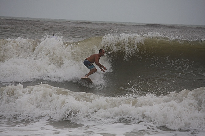 West Central Florida Gulf Surf Report Photography. Featuring photographs from standout surfing spots along the Gulf Coast. Photo taken and posted on June 08 2020, 18:27