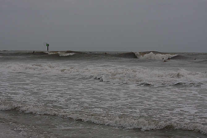West Central Florida Gulf Surf Report Photography. Featuring photographs from standout surfing spots along the Gulf Coast. Photo taken and posted on June 08 2020, 18:29