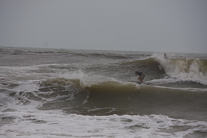West Central Florida Gulf Surf Report Photography. Featuring photographs from standout surfing spots along the Gulf Coast. Photo taken and posted on June 08 2020, 18:30
