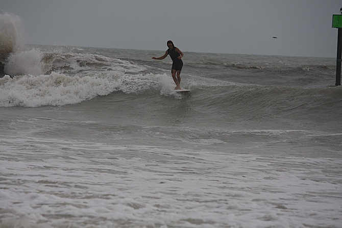 West Central Florida Gulf Surf Report Photography. Featuring photographs from standout surfing spots along the Gulf Coast. Photo taken and posted on June 08 2020, 18:31