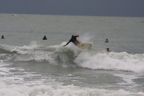 West Central Florida Gulf Surf Report Photography. Featuring photographs from standout surfing spots along the Gulf Coast. Photo taken and posted on July 11 2019, 20:31