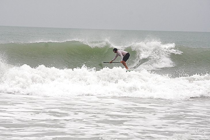 West Central Florida Gulf Surf Report Photography. Featuring photographs from standout surfing spots along the Gulf Coast. Photo taken and posted on July 15 2019, 01:43