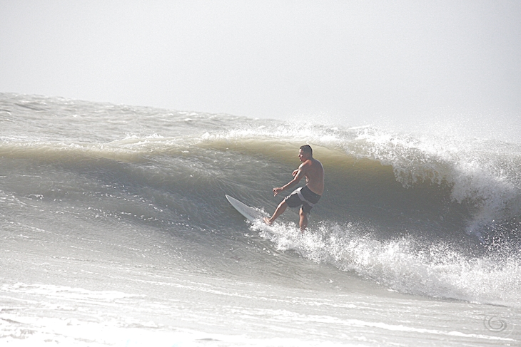 West Central Florida Gulf Surf Report Photography. Featuring photographs from standout surfing spots along the Gulf Coast. Photo taken and posted on October 19 2019, 18:10
