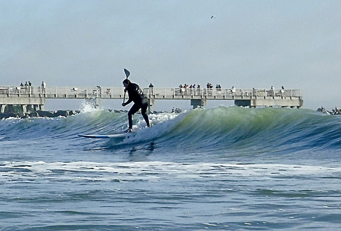 Florida Beach report surf photo taken and posted on February 17 2020, 10:08