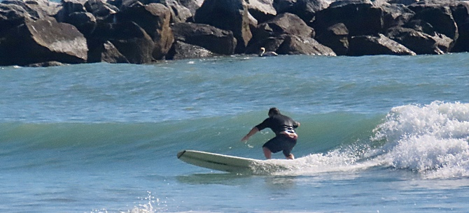Florida Beach report surf photo taken and posted on March 15 2020, 08:03